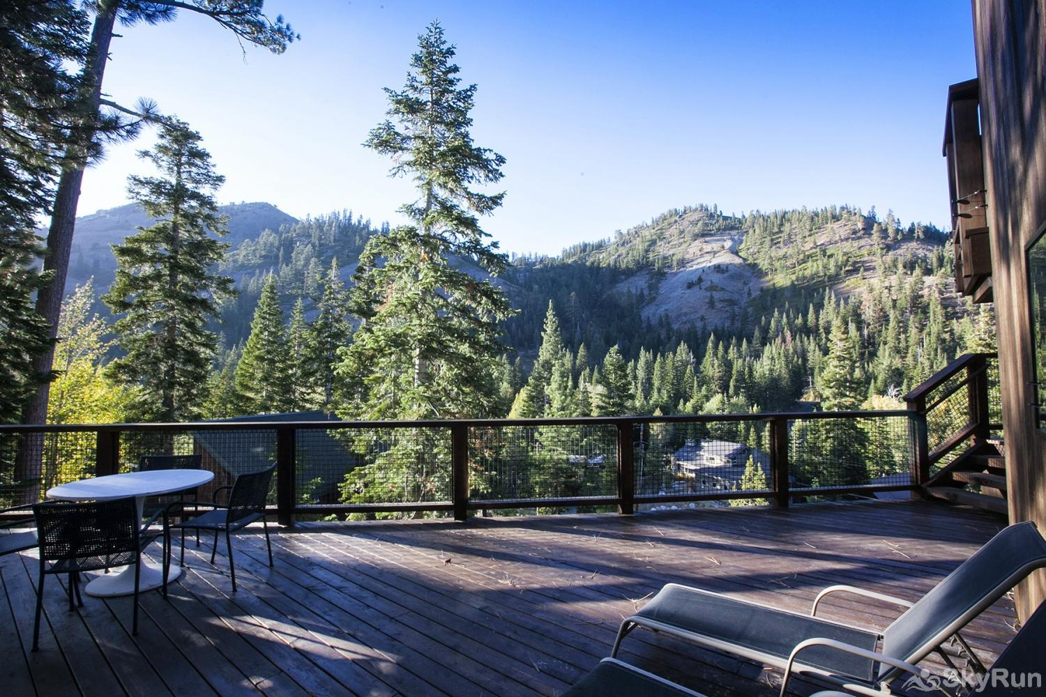 Trapper Mc Nutt  Modern Mountain Home Back Deck