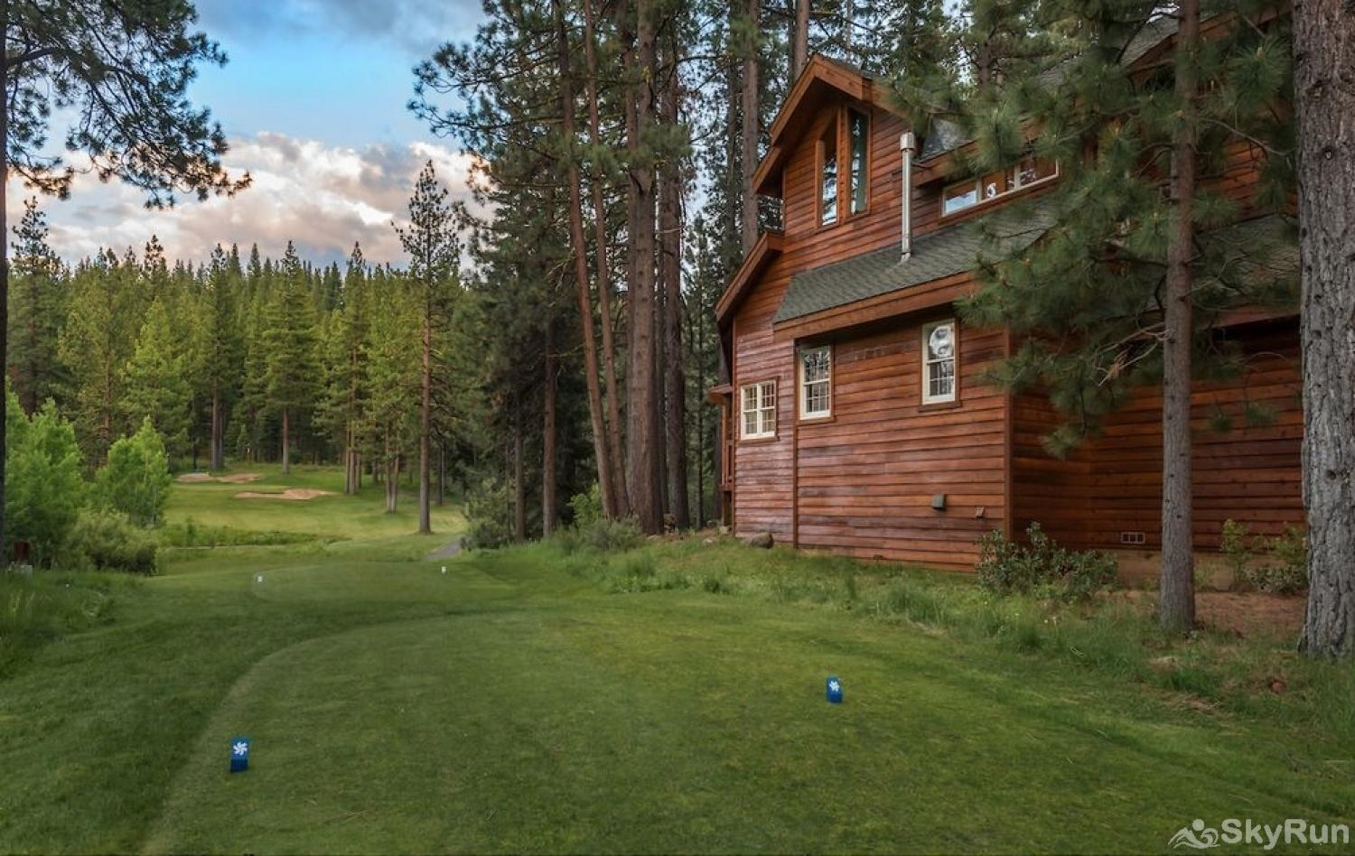Northstar Luxury Lodgepole Retreat Located on the 13th Green