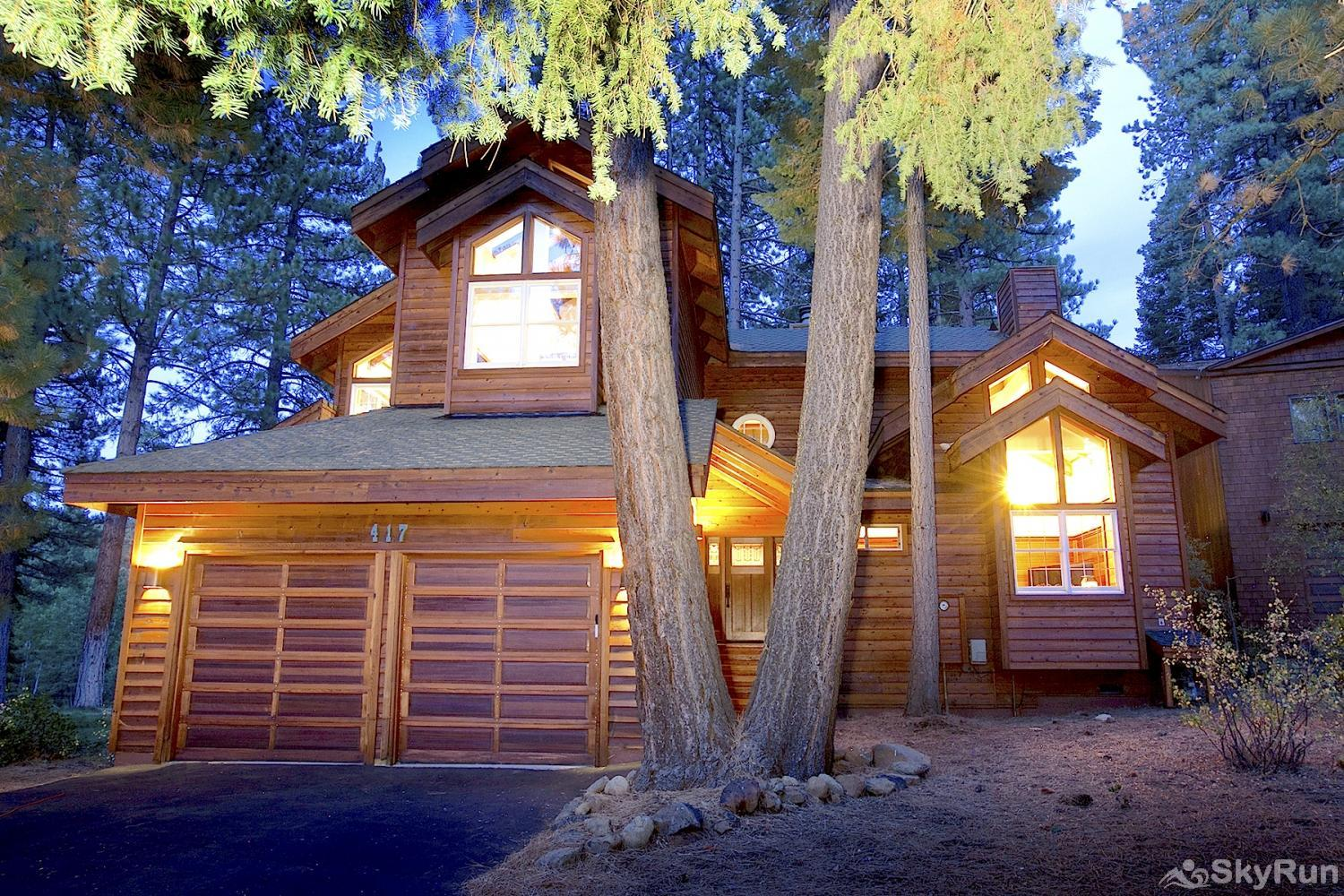 Northstar Luxury Lodgepole Retreat Exterior Front View